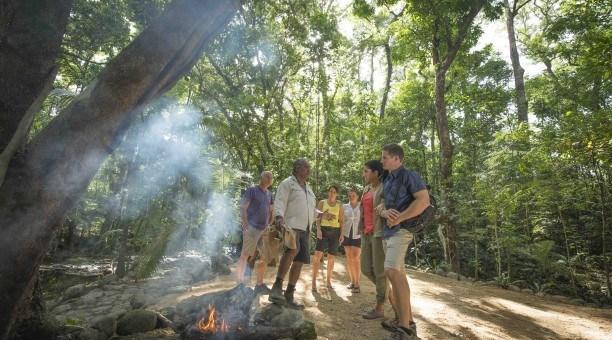 Mossman Gorge guided culture tour, North Queensland Australia